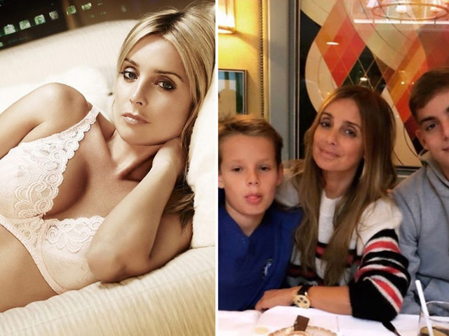 Louise Redknapp, 45, refuses to cover up as teenage sons beg her to stop wearing revealing outfits