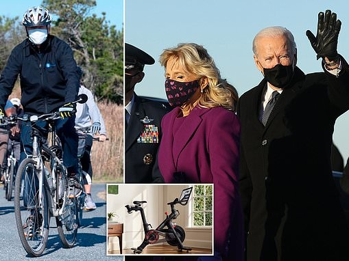 Joe Biden could be forced to ditch his high-tech exercise bike because of cyber-security risks