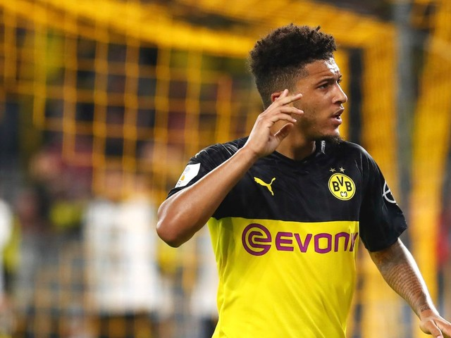 Jadon Sancho, a 19-year-old who has been compared to Neymar, is now worth far more than the declining Paris Saint-Germain super forward