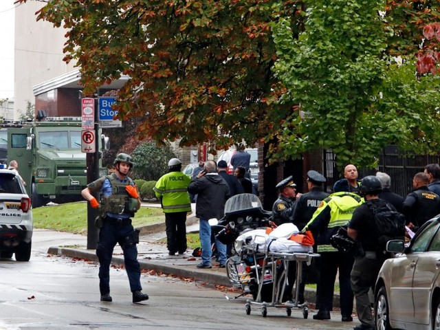 At least 4 dead after gunman opens fire at Pittsburgh synagogue