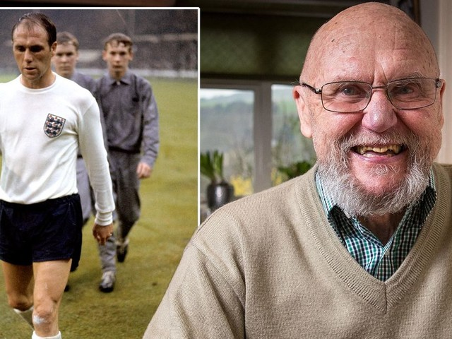 BREAKING Ray Wilson dead: England 1966 World Cup winner dies, aged 83
