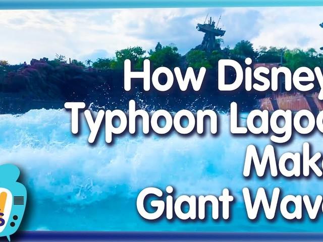 AllEars TV: How Disney's Typhoon Lagoon Makes Giant Waves!