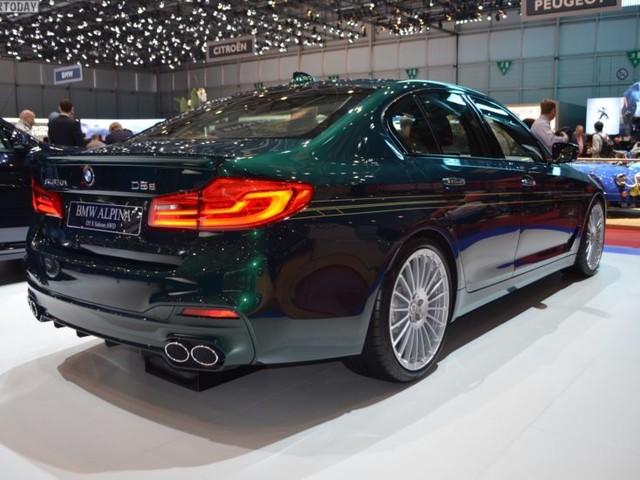 Geneva BMW ALPINA D S In Alpina Green Looks Stunning Motors - Alpina motors