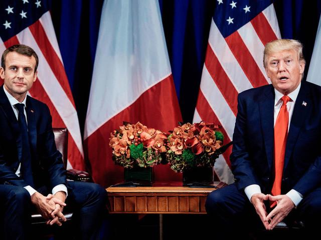 Can Macron Keep Trump From Shredding the Iran Deal?