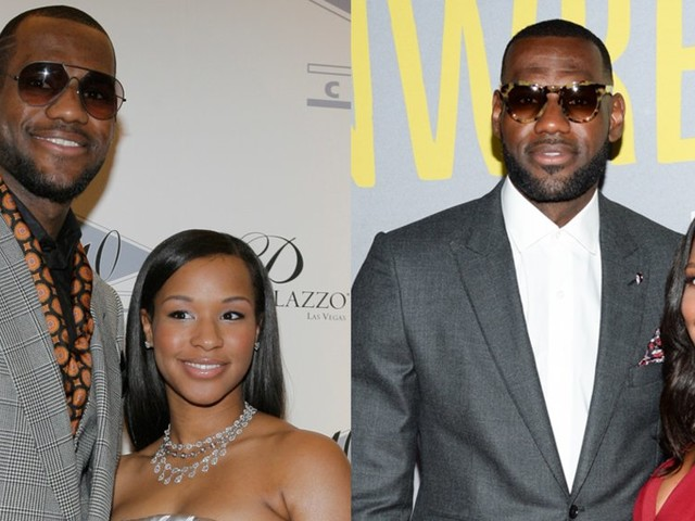 LeBron and Savannah James have been together for almost two decades. Here's a timeline of their love story.