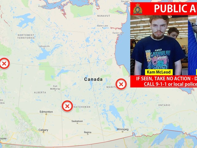 2 Canadian teens wanted in an apparent murder spree spanning thousands of miles will likely die in a gun battle with police, one of their dads said