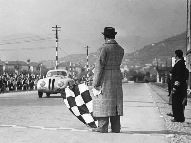 BMW Celebrates 80 years since the iconic 328 won Mille Miglia
