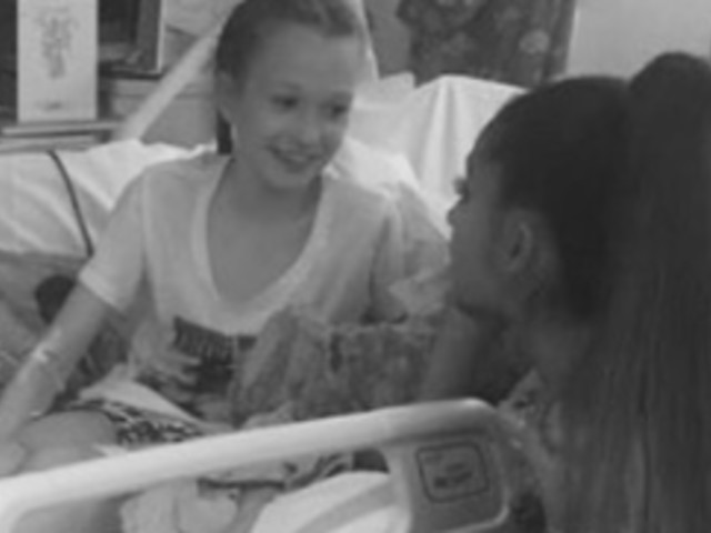 Ariana Grande Surprises Young Fans Injured In Manchester Attack