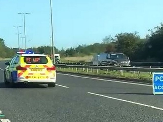 Man found dead in car on the A189 in early morning crash
