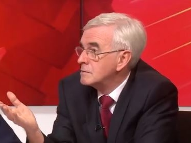 McDonnell Asked 8 Times How Much Labour Would Spend Servicing Debt