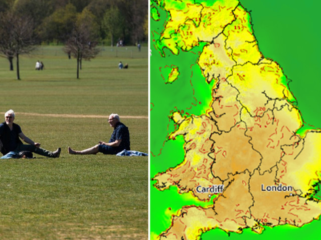 UK weather forecast: 25C Good Friday could smash 110-year-old temperature record as Britain hotter than Ibiza