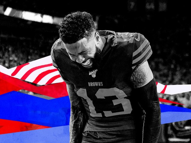 What's wrong with the Browns and Odell Beckham Jr.?