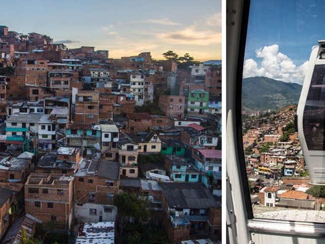 Here's what it's like to ride Medellín's famous cable car system, which helped transform the Colombian city from the world's most dangerous into a thriving tourist hub