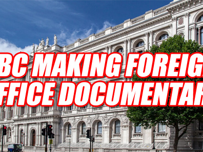 BBC Making Foreign Office Documentary
