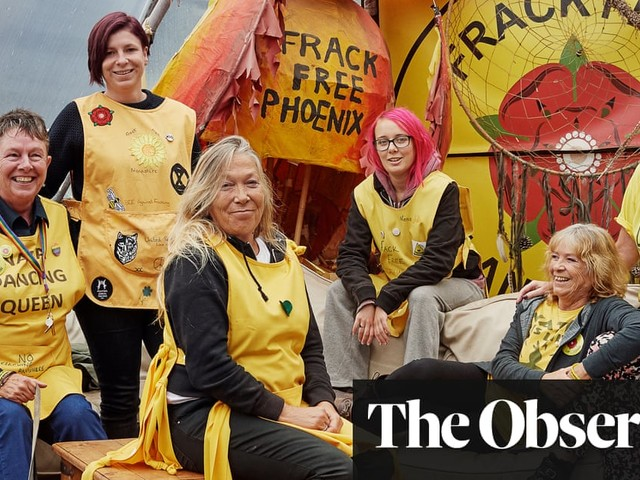 Don't frack with us: meet the victorious activist 'Nanas' of Lancashire