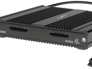 Sonnet Introduces CFexpress and XQD Pro Card Reader with Thunderbolt 3