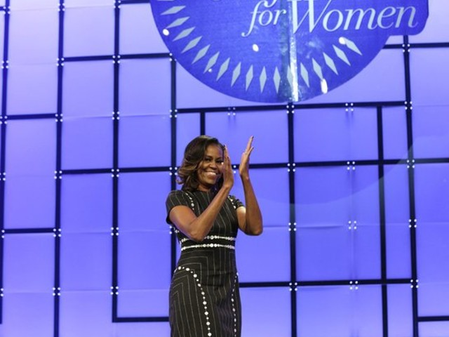 Michelle Obama Speaks At 14th Annual Pennsylvania Conference For Women