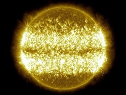 A stunning NASA time-lapse reveals a decade of the sun's solar flares, sunspots, and shifting magnetic energy