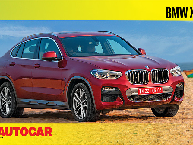 Review: 2019 BMW X4 video review