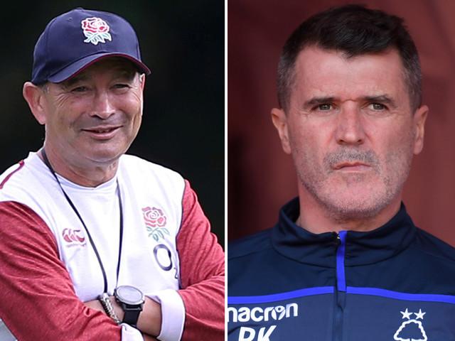 Eddie Jones invites former Man Utd and Ireland hardman Roy Keane to give England a stirring World Cup pep talk