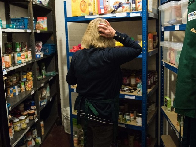 When Universal Credit Forces Foodbank Volunteers To Turn To Banks Themselves, Something Must Change