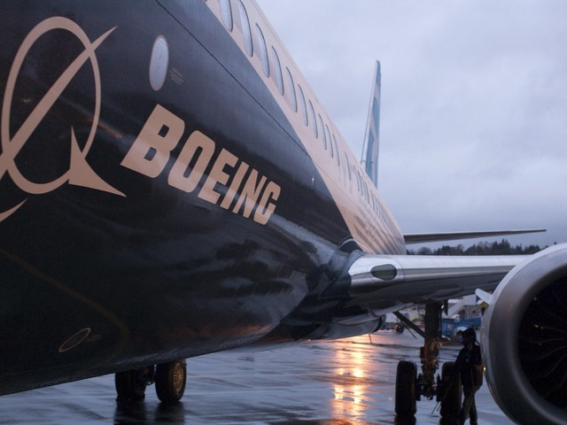 Boeing says it encouraged the FAA to temporarily ban its 737 Max planes (BA)