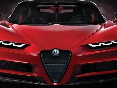 "Alfa Romeo ""Chiron"" Looks Like a Modern Version of the 159"