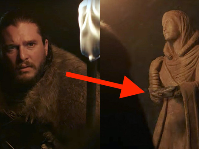 The new 'Game of Thrones' teaser had a fantastic throwback to the very first episode and Jon Snow's real mother