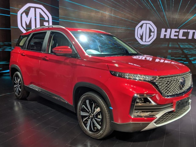 Seven-Seater MG Hector SUV Launching In India Early Next Year – Report