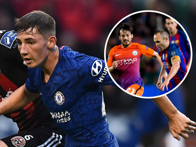 Chelsea fans call Billy Gilmour 'our Iniesta' after impressive debut in friendly v Bohemians