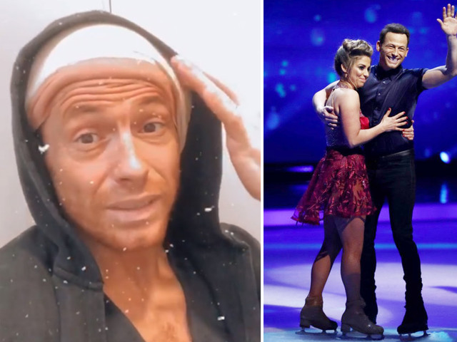 Dancing On Ice's Joe Swash rushed to hospital for second time – but WILL be allowed to dance at final