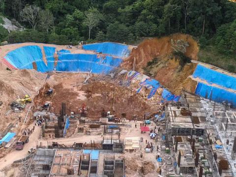 Hillside development issue was raised before