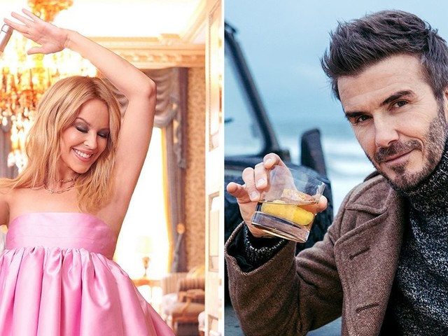 We try best celebrity booze - Kylie Minogue, P. Diddy, Ryan Reynolds and more