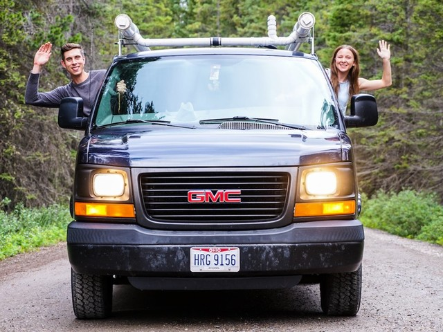 My boyfriend and I spend just $24,000 a year by living in a van — here are all the things we save money on