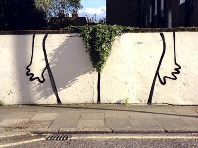 In Pictures: London's Best Garden Street Art