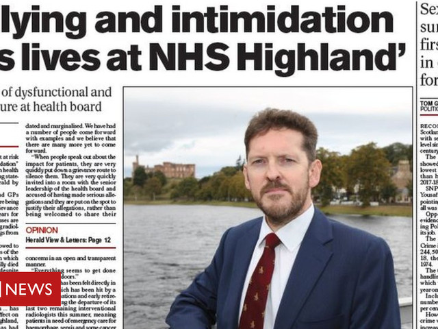 Scotland's Papers: Bully claims and Indy rally 'blow'