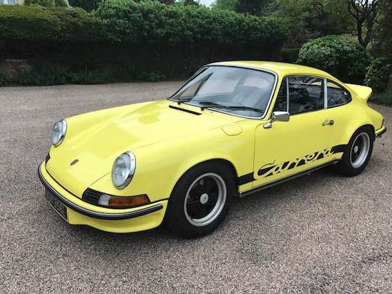 Rare Porsche 911 worth £500,000 stolen from London car park