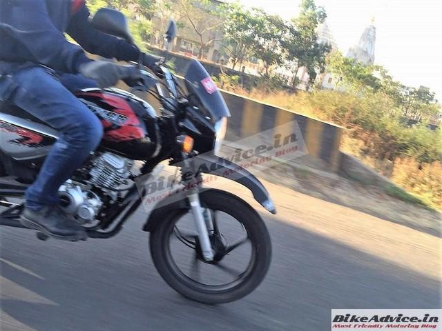 Bajaj Boxer X150 Adventure Cross spied on test in India – Photos