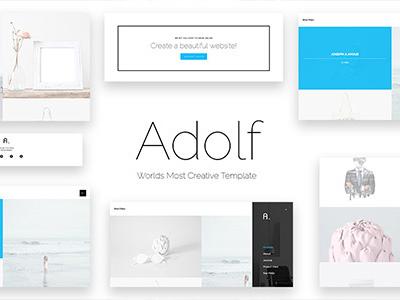Adolf - Creative Premium Web Template (Portfolio)