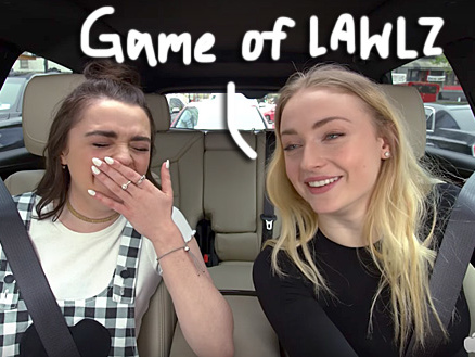 Sophie Turner & Maisie Williams' Carpool Karaoke Will Make You Forget About All The Stark Drama On Game Of Thrones!