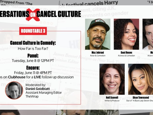 Join a Conversation on 'Cancel Culture in Comedy' with Maz Jobrani, Skye Townsend, Matt Rife and Suni Reyes