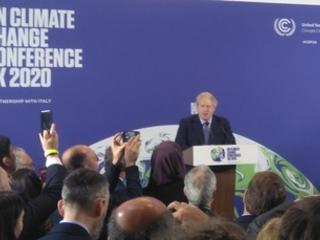 Boris Johnson to pledge to 'build back greener'