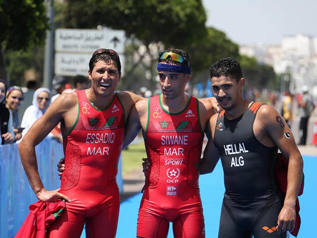 Siwane and ElSalamoney secure African Games triathlon titles