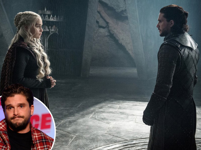 Game of Thrones' Kit Harington recalls 'exciting' first scene with Emilia Clarke after pair were kept apart for 6 years