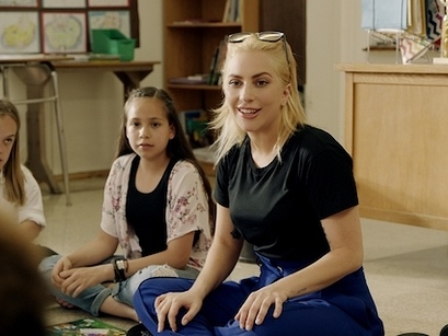 Lady Gaga Teams Up With Staples To Support Education