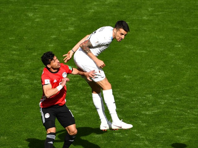 Matias Vecino's Uruguay earn 1-0 win over Egypt