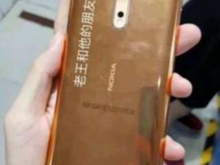 """Gold-copper"" Nokia 8 version allegedly leaked from production line"