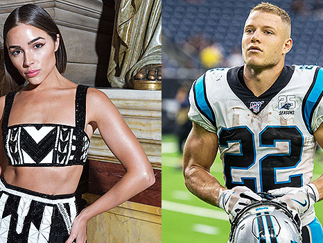 Olivia Culpo, 27, & Christian McCaffrey, 23, 'Quietly Dating': 'He's Smitten With Her'