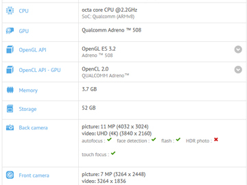 Asus ZenFone 4 appears on GFXBench, revealing specs prior to next week's unveiling