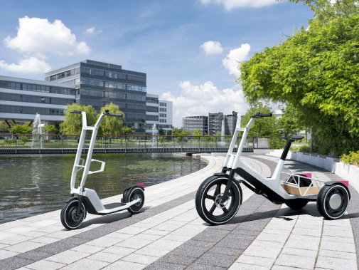 BMW Group Research unveils innovative concepts for cargo e-bike and e-scooter